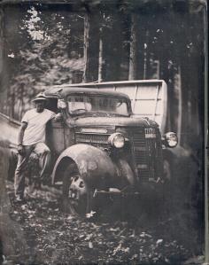 scott and his truck